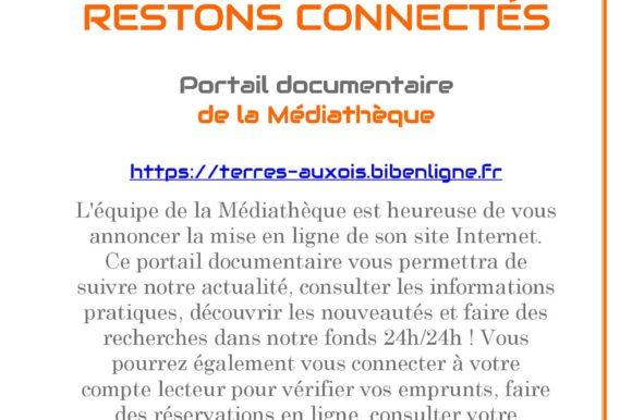 Nouveau la Médiathèque dispose d'un catalogue en ligne !