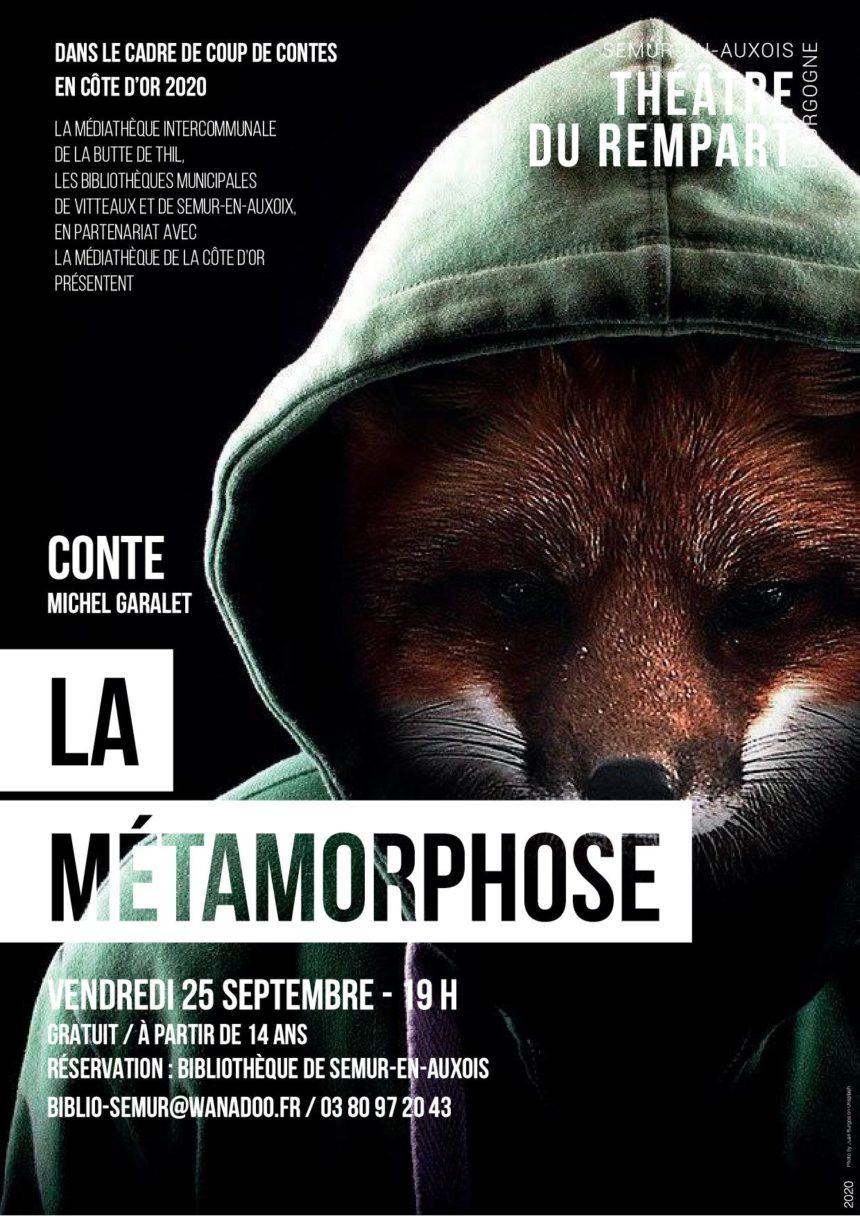 Coup de Contes – Spectacle Métamorphose – Contes du Sud Ouest