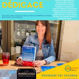 Rencontre dédicace Céline Colle auteure et bloggeuse