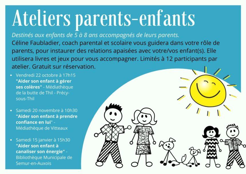 Ateliers Parents Enfants – Céline Faubladier