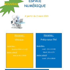 Espace Numérique – Vitteaux et Précy-sous-Thil